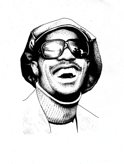 Stevie Wonder by DannyPiG